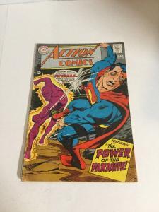Action Comics 361 Vg Very Good 4.0 Bottom Staple Detached Second Parasite
