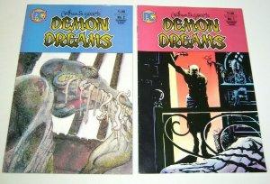 Arthur Suydam's Demon Dreams #1-2 complete series pacific comics horror