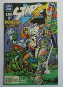 Stars and Stripe #2 VF+ Paintball Strikes Early Stargirl App. 1st Print DC 1999