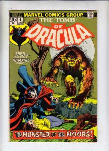 Tomb of Dracula #6 (Jan-73) FN+ Mid-High-Grade Dracula