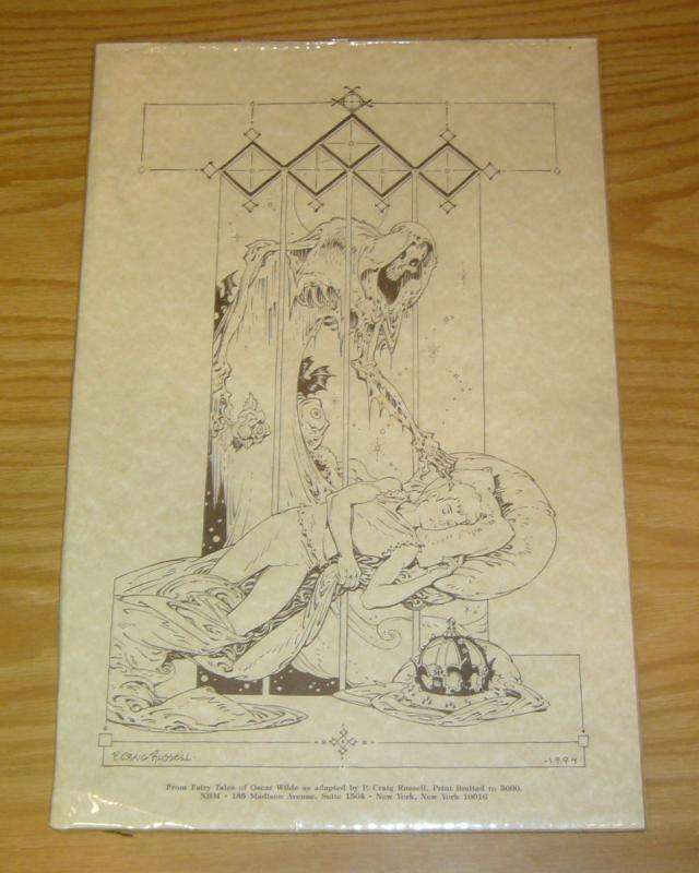 From Fairy Tales of Oscar Wilde print by Peter Craig Russell - limited to 3,000