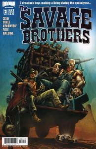 Savage Brothers, The #2 VF/NM; Boom!   save on shipping - details inside