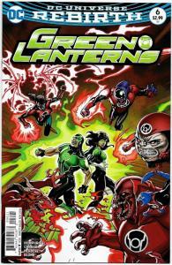 Green Lanterns #6 Rebirth Variant Cvr (DC, 2016) NM