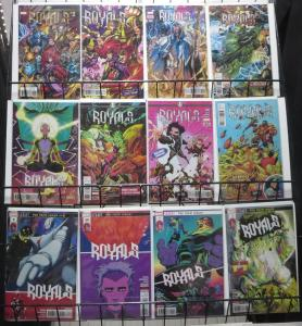 ROYALS (2017 MARVEL) #1-12 COMPLETE! VF-NM! EWING/MEYERS! INHUMANS! BLACK BOLT!