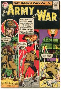 OUR ARMY AT WAR #150-D.C. WAR SILVER-AGE-SGT. ROCK-1965 G-