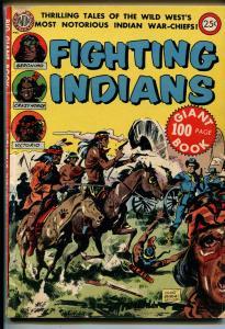 Fighting Indians No  #-1952-Avon-Geronimo-Crazy Horse-Kinstler cover-VG+
