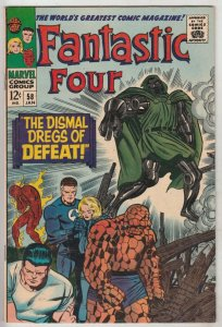 Fantastic Four #58 (Jan-67) NM- High-Grade Fantastic Four, Mr. Fantastic (Ree...