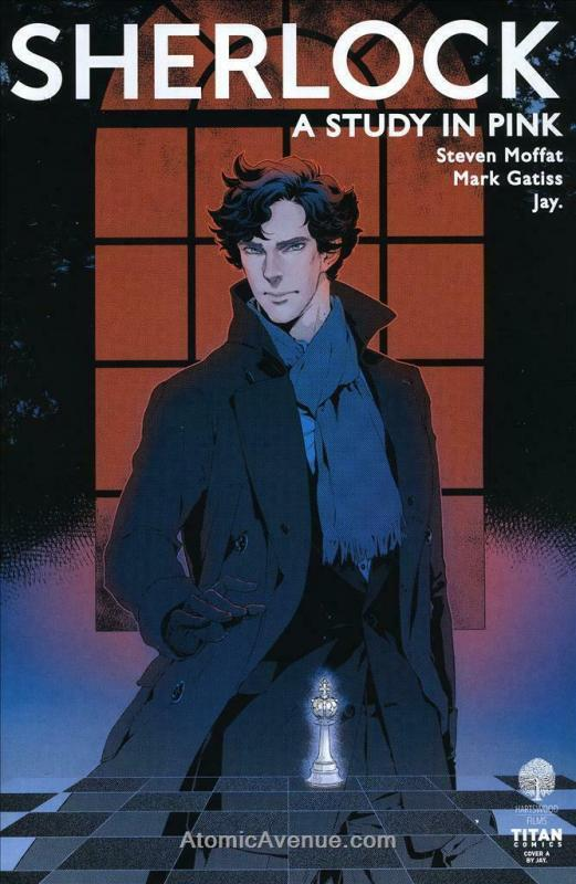 Sherlock Manga: A Study in Pink #3A VF/NM; Titan | save on shipping - details in