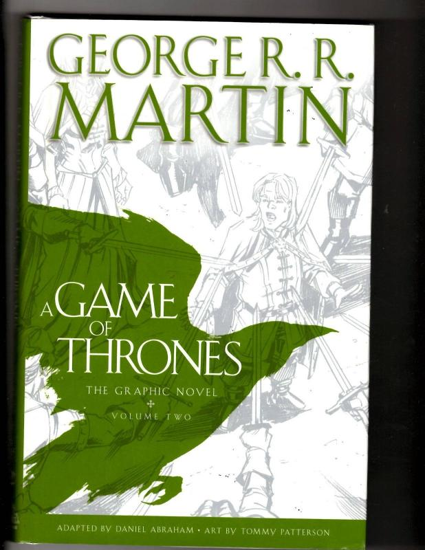 Game Of Thrones Vol 2 Hardcover Graphic Novel Comic Book Geo R R