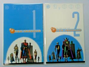 DC Two Thousand set #1 to #2 all 2 different books 8.0 VF (2000)