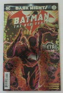 Batman The Red Death #1 Dark Knights Metal Tie-In Foil Cover VF/NM 1st Print DC
