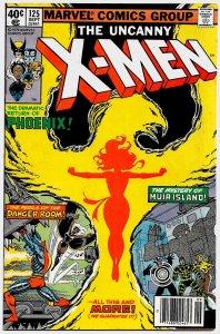 X-MEN #125 (Sept1979 ) 9.0 VF/NM Claremont! Byrne/Austin! The return of PHOENIX!