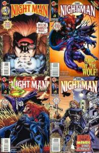 NIGHT MAN (1995 MA/UL) 1-4  Englehart & Wildman COMICS BOOK