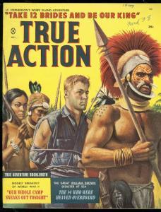 TRUE ACTION MAY 1959-WILD COVER-WW2 POW ESCAPE-ATLAS FN/VF