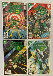 Green Arrow set from #1-4 all 4 different books Mini Series 8.0 VF (1983)