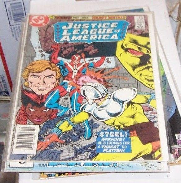 justice league of america  # 235 1984 dc  REBIRTH PT 3 VIBE STEEL GYPSY VIXEN