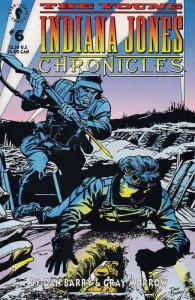 Young Indiana Jones Chronicles, The #6 FN; Dark Horse | save on shipping - detai
