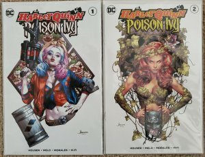 HARLEY QUINN/POISON IVY #1 And #2 ANACLETO EXCLUSIVE TRADE DRESS VARIANTS