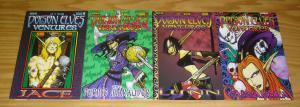 Poison Elves Ventures #1-4 VF/NM complete series - aron bordner - sirius 2 3 set