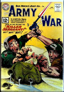 Our Army at War #114 (1962)