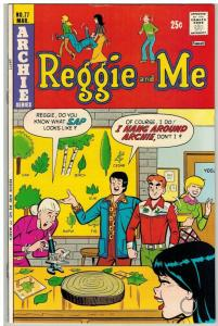 REGGIE & ME (1966-1980) 77 VF Mar. 1975