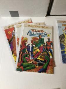 Hero Allliance Justice Machine 1 3 4 5 6 7 Innovation Comics Lot