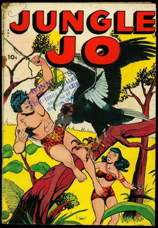 JUNGLE JO-1950-NO NUMBER ISSUE-JO JO, CONGO KING-FOX  G/VG