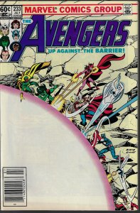 Avengers #233 (Marvel, 1983) NM
