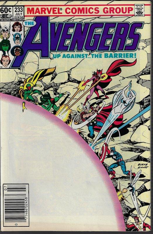 Avengers #233 (Marvel, 1983) NM