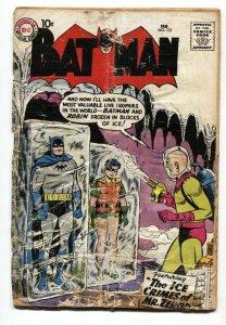 BATMAN #121-1959-FIRST MR. FREEZE-KEY-SILVER-AGE