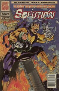 Solution #5 Newsstand Cover (1993-1995) Malibu Comics VF+