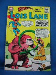 SUPERMAN GIRLFRIEND LOIS LANE 54 Fine+ 1965 Alien Monster