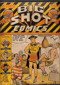 Big Shot Comics #6 FA/GD 1.5