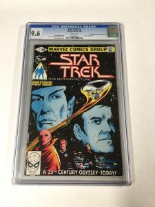 Star Trek 1 Cgc 9.6 White Pages Marvel