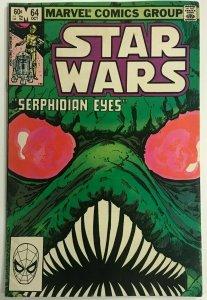 STAR WARS#64 FN/VF 1982 MARVEL BRONZE AGE COMICS