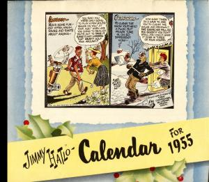 They'll Do It Every Time 1955 Calendar-Jimmy Hailo RARE
