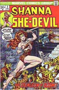 Shanna the She-Devil #2 (Feb-73) NM- High-Grade Shanna