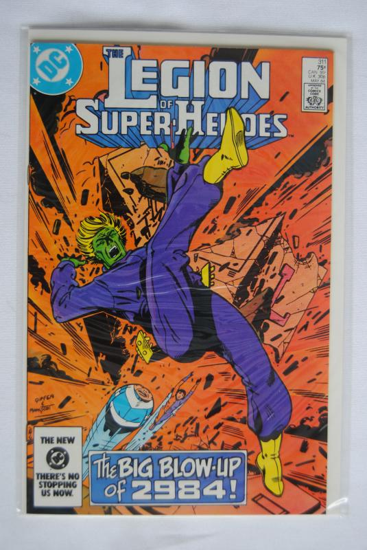 Legion of Super-Heroes 311