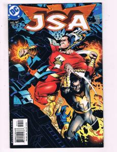 JSA #41 VF DC Comics Comic Book Goyers Johns Shazam DE12