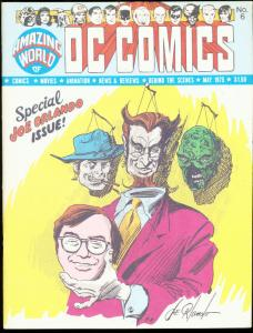 AMAZING WORLD OF D.C. COMICS #6-1975-JOE ORLANDO VF