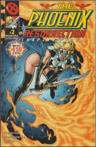 THE PHOENIX RESURRECTION / MANTRA #2 - BAD GIRL - MALIBU , BAGGED & BOARDED