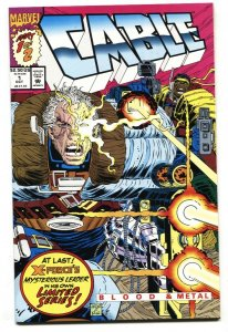 CABLE #1 1992-MARVEL COMICS- X-MEN NM-