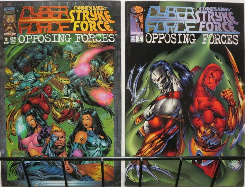 CYBERFORCE CODENAME STRYKEFORCE OPPOSING FORCES 1-2
