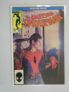 Amazing Spider-Man #262 Direct edition 7.0 FN VF (1985 1st Series)