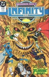 Infinity Inc. (1984 series) #46, NM- (Stock photo)