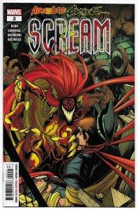 Absolute Carnage Scream #2 (Marvel, 2019) NM