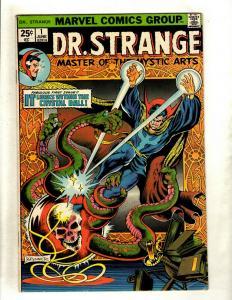 Dr. Strange # 1 FN Marvel Comic Book Frank Brunner Defenders Avengers HY1