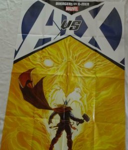 AVENGERS vs X-MEN Promo Poster, 24 x 36, 2012, MARVEL Thor, Unused 255