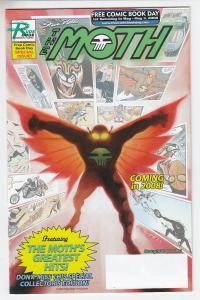 The Moth Rude Dude Unstamped NM- FCBD 2008