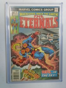 The Eternals #3 5.5 FN- foxing on rear (1976 1st Series)